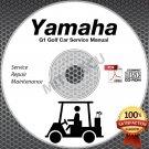 1983-1989 Yamaha G1 Golf Cart (Gas/Electric) Service Manual CD ROM G1-A G1-E