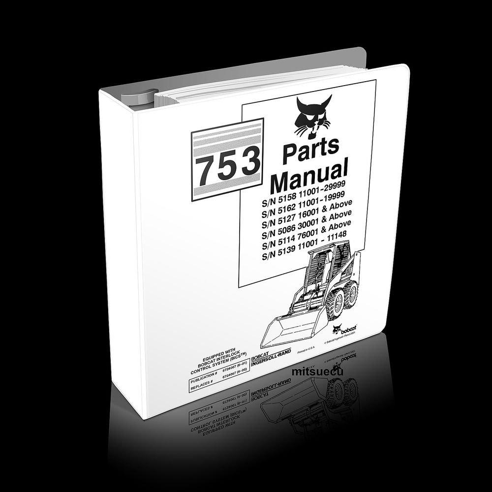 bobcat 753 parts manual pdf