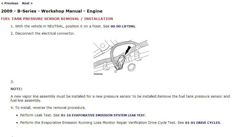 2009 Mazda B-Series Trucks Service Manual CD ROM workshop repair B2300 B4000