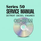 Detroit Diesel SERIES 50 DDEC II/III Service Manual CD (6SE50) repair shop