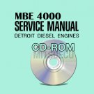 Detroit Diesel EPA98 EPA04 MBE 4000 Service Manual CD (6SE412) workshop repair