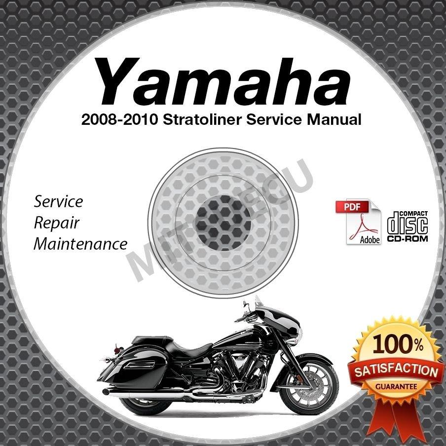 2008 2009 2010 Yamaha STRATOLINER / S / DELUXE Service Manual CD ROM repair shop