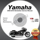 2008 2009 2010 Yamaha STRATOLINER / S / DELUXE Service Manual CD ROM repair shop