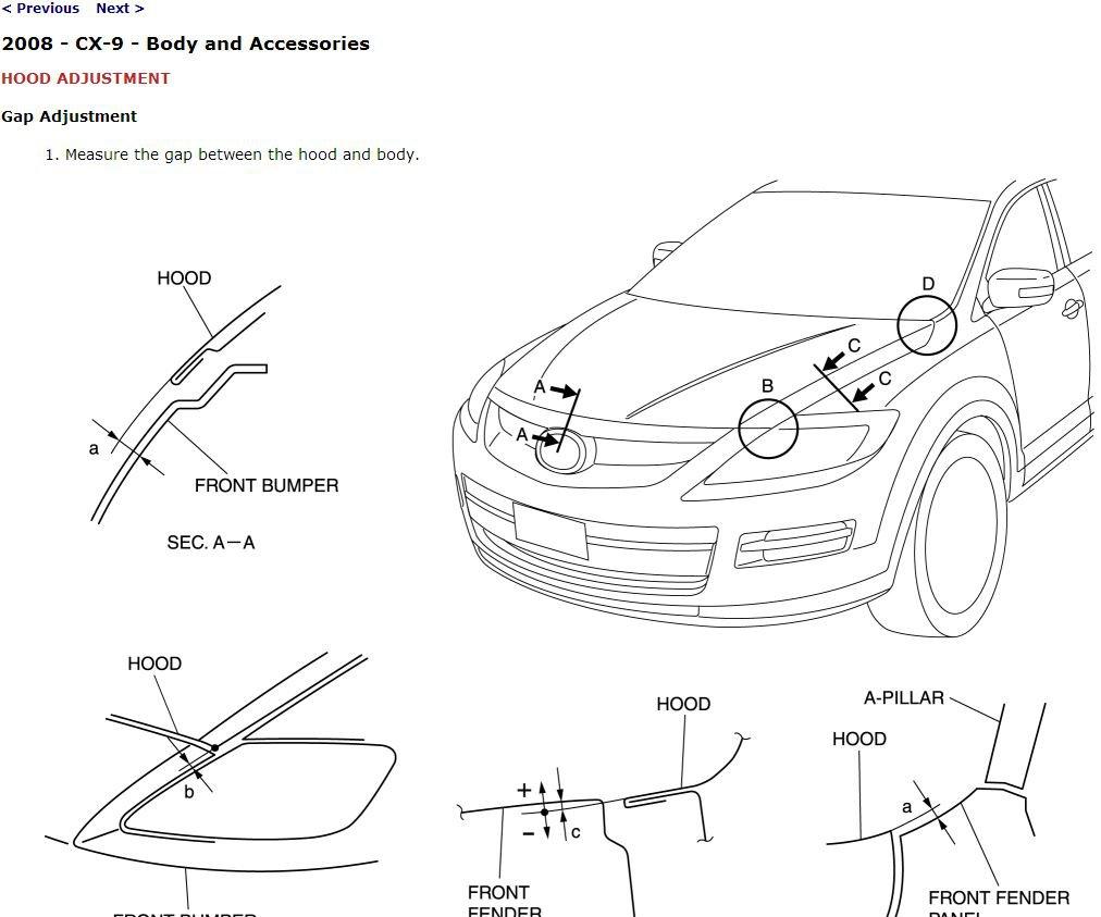 service manual pdf 2008 mazda cx 9 workshop manuals. Black Bedroom Furniture Sets. Home Design Ideas