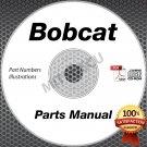 Bobcat T180 Compact Loader PARTS MANUAL CD repair shop (Serial #s Listed)