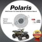 2009 Polaris PREDATOR 50, OUTLAW/SPORTSMAN 90 ATV Service Manual CD ROM repair