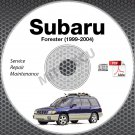 1999-2004 SUBARU FORESTER Service Repair Manual CD ROM 2000 2001 2002 03