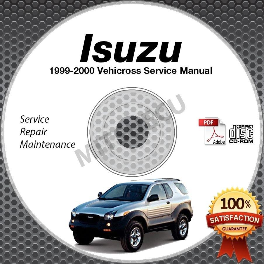 1999-2000 Isuzu VehiCROSS Service Manual CD ROM Repair Shop 3.5L