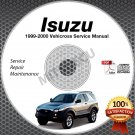 1999-2000 Isuzu VehiCROSS Service Manual CD ROM Repair Shop 3.5L