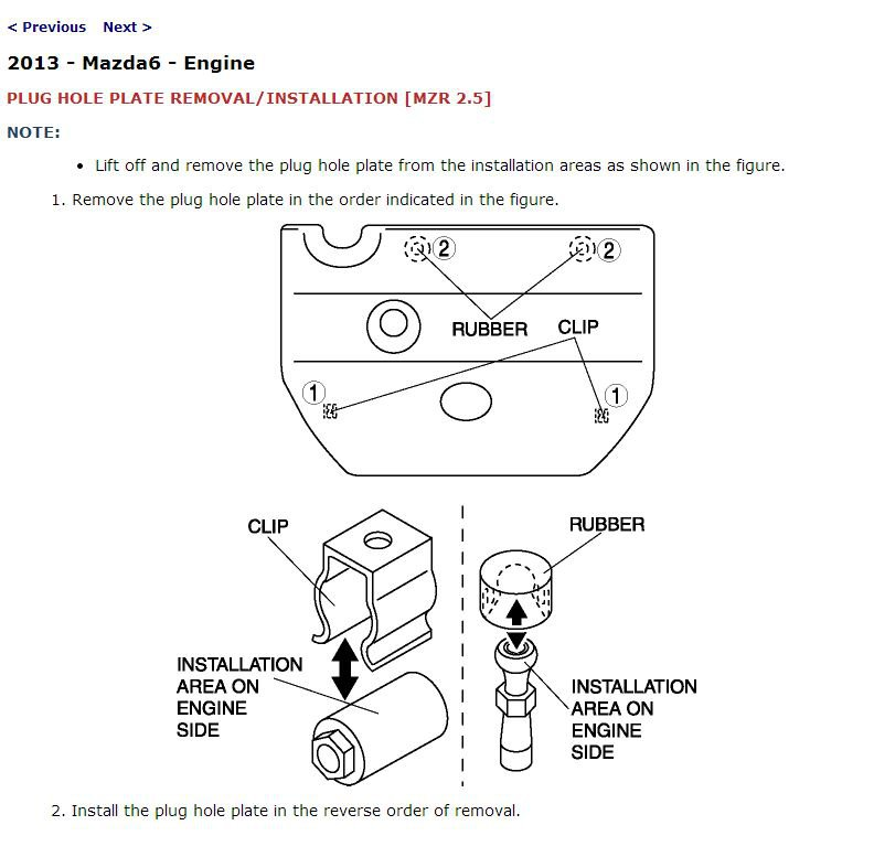 2013 Mazda6 Service Manual CD ROM workshop repair MZR 2.5L 3.7L NEW!