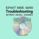 Detroit Diesel Series EPA07 MBE 4000 DDEC VI Troubleshooting Guide CD (6SE568)