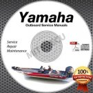 ALL 1996 Yamaha Outboards Service Manual CD ROM repair shop boat motor outboard