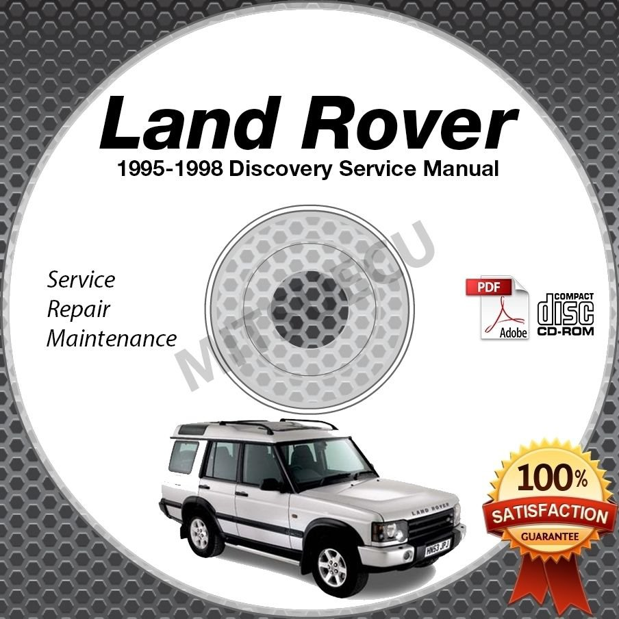 [1998 Land Rover Discovery Transmission Repair Manual
