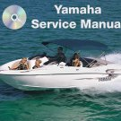 1999-2005 Yamaha LX210 AR210 Boats Service Manual CD ROM repair shop 00 01 02 03