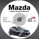 Mazda ENGINE OVERHAUL Service Manuals CD-ROM workshop rebuild Skyactiv 2.0 2.5