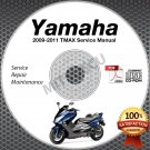 2009-2011 Yamaha TMAX XP500 Scooter Service Manual CD ROM repair shop 2010