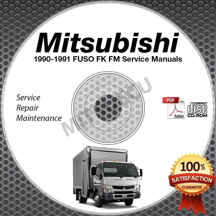 1990 1991 mitsubishi fuso fk fm service manual cd rom. Black Bedroom Furniture Sets. Home Design Ideas