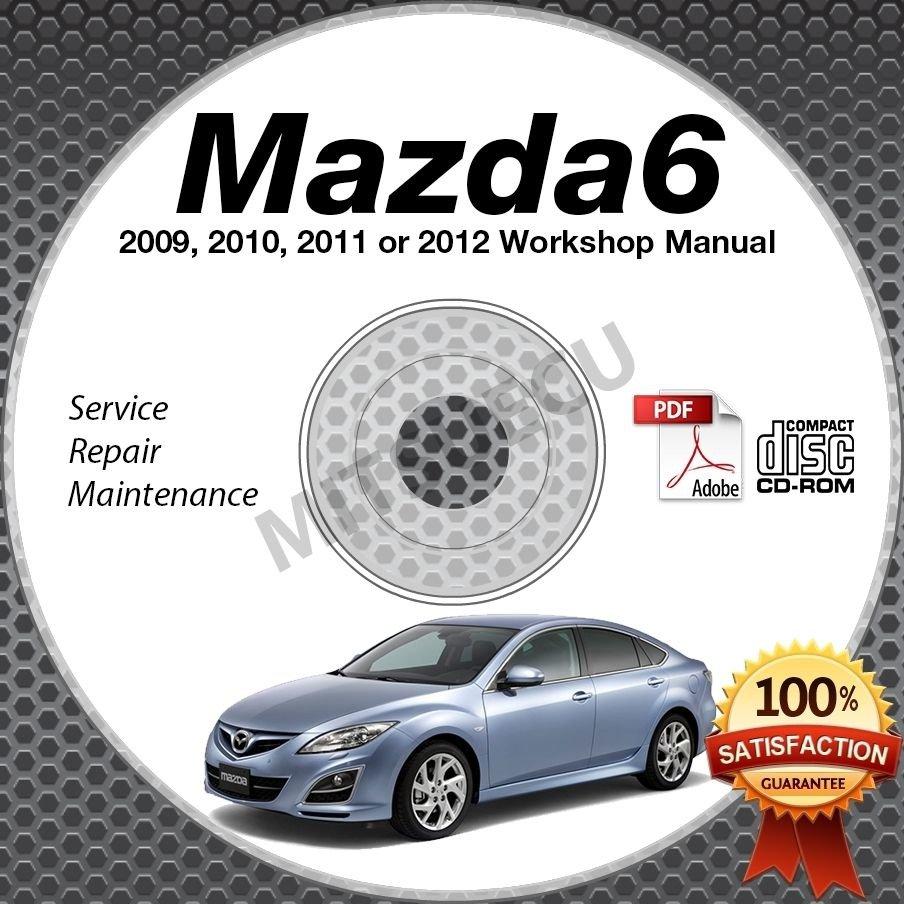 2009-2012 Mazda6 Service Repair Shop Manual CD-ROM workshop 2010 2011