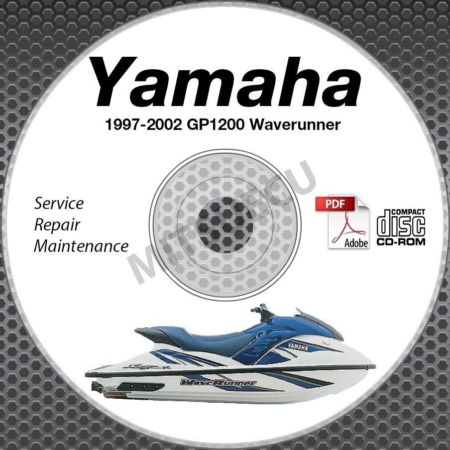 1997-2002 Yamaha WAVERUNNER GP1200 GP1200R Service Manual CD ROM repair shop