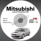 2003-2005 Mitsubishi Lancer Evolution VIII 8 Service Repair Manual CD repair Evo