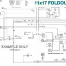 Bobcat 453 Hydraulic & Electrical Schematics 11x17 FOLDOUTS [S/N 515X 11001 up]