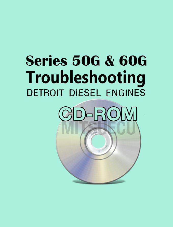 Detroit Diesel Series 50G / 60G Troubleshooting Guide CD (6SE482) diagnostics
