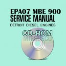 Detroit Diesel EPA07 MBE 900 Service Manual CD (DDC-SVC-MAN-0034) Repair Shop