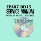 Detroit Diesel EPA07 DD15 Workshop Service Manual CD (DDC-SVC-MAN-0002) Repair