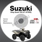 2005-2007 Suzuki King Quadrunner 700 LTA700 Service Manual CD repair workshop 06