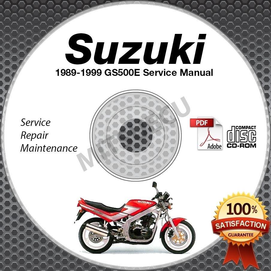 1989-1999 Suzuki GS500E Service Manual CD ROM Repair Shop 1995 1996 1997 1998