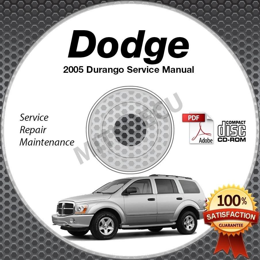 2005 Dodge DURANGO (ST SLT LARAMIE) 3.7L, 4.7L Service Manual CD shop repair
