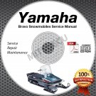 1982-2011 Yamaha BRAVO + Long Track BR250 Service Manual CD ROM repair shop