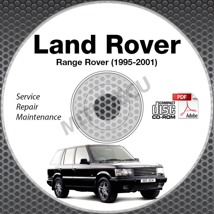 1995-2001 Land Rover RANGE ROVER Service Manual CD ROM repair 00 99 98 97 96