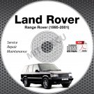 1995-2001 Land Rover RANGE ROVER Service Manual CD ROM repair 00 99 98 97 96