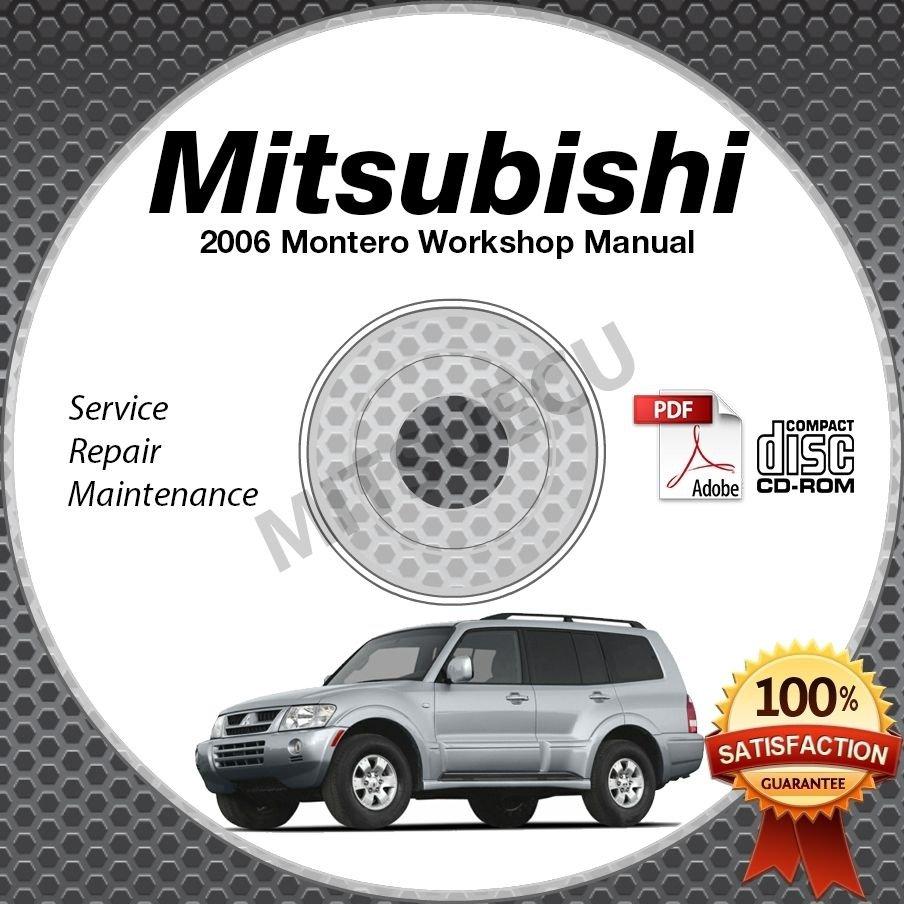 2006 Mitsubishi Montero 3.8L Service Manual CD ROM repair workshop