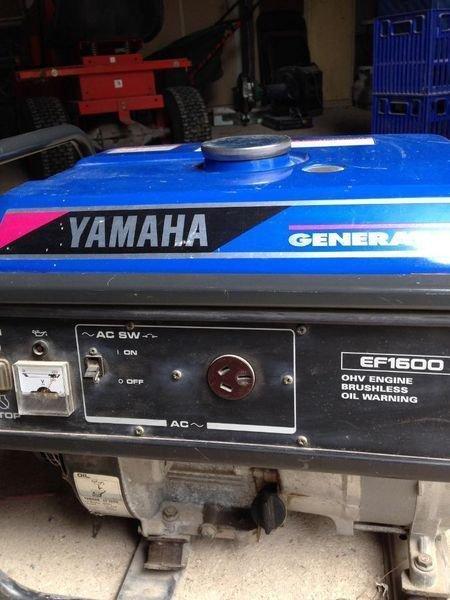 Yamaha EF1600 EF2500 Generator Service Manual CD LIT-19616-00-22 Shop Repair