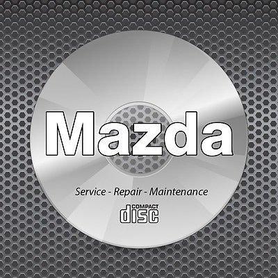 2007-2013 Mazda CX-9 Bodyshop Collision Repair Service Manual CD ROM body CX9