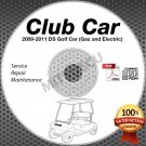 2009-2011 Club Car DS Golf Car (Gas+Elec) Service Manual CD ROM repair shop cart