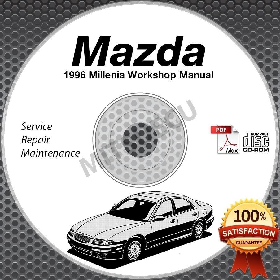 1996 Mazda Millenia Service Manual + Wiring Diagrams CD ROM workshop repair
