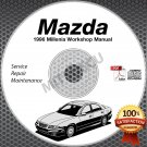 1996 Mazda Millenia Service Manual + Wiring Diagrams CD ROM workshop repair