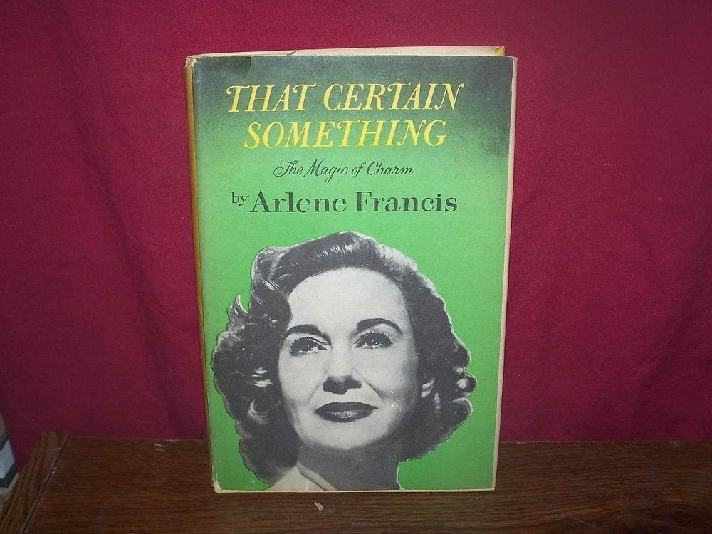 Vintage Book 'That Certain Something' Francis-1960
