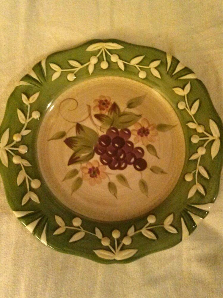 Pamela Gladding Plate Grapes