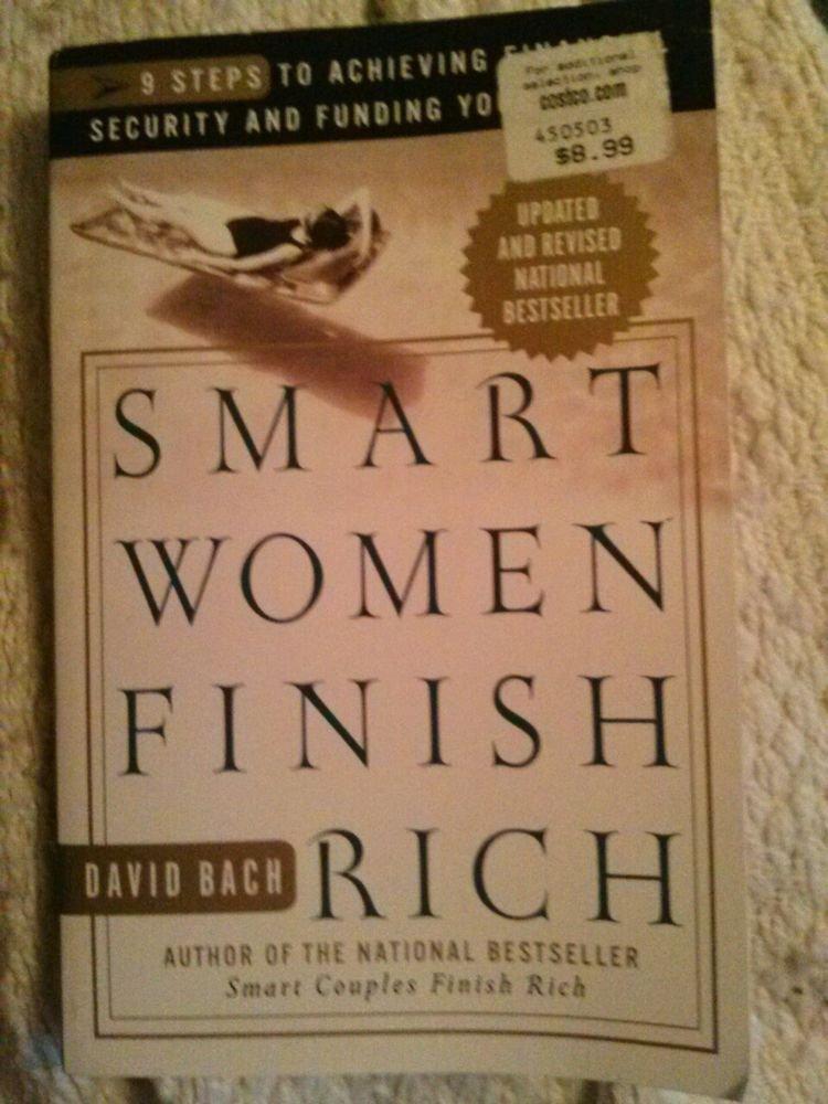 SMART WOMEN FINISH RICH - DAVID BACH (PAPERBACK) NEW