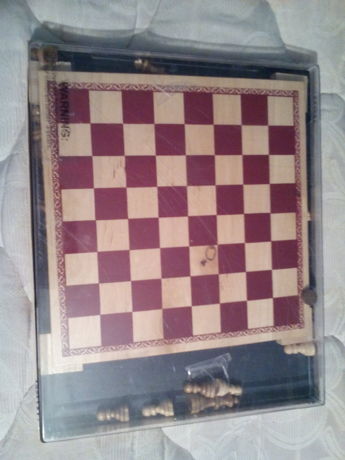 chess and checkers 2 in 1