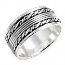 925 Solid Sterling MEN'S PLAIN SILVER BAND 925 Solid Sterling Silver Ring Size 8