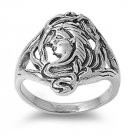 925 Solid Sterling Silver Ring - Turtle Band 18mm