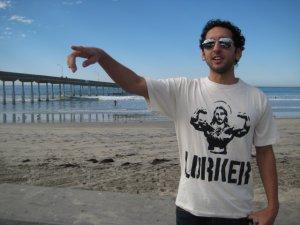 """Jesus is Fierce"" Bamboo Skate Shirt *SIZE M"