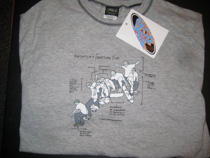 Jerome Baker Skateboards T Shirt *szL* *JBD*