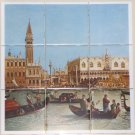 Italy Ceramic Tile Mural #2 Caneletto > The Bucintoro returning to the Moto