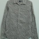 Gap Womens Large Long Sleeve Button Down Floral Pattern Blouse Casual Top Shirt